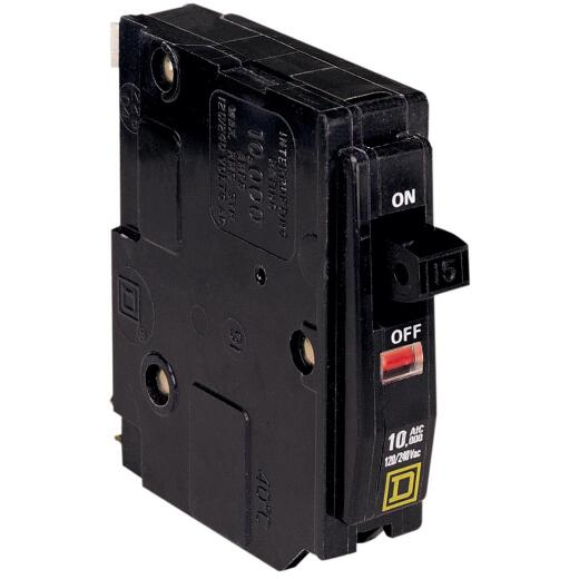 Square D QO 20A Single-Pole Standard Trip Circuit Breaker